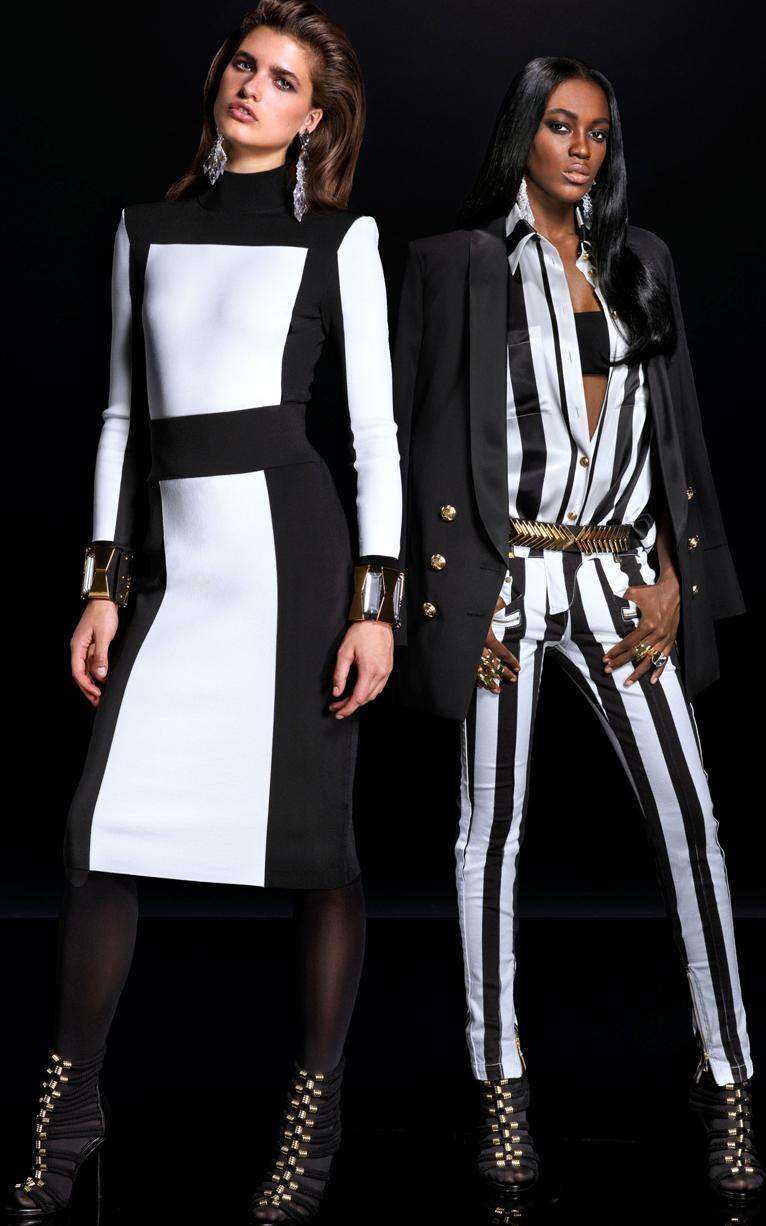 Balmain x HM Lookbook 2