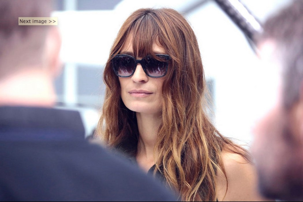 Caroline de Maigret at the Chanel Spring Summer 2016 Show