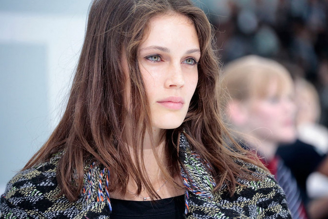Marine Vacth at the Chanel Spring Summer 2016 Show