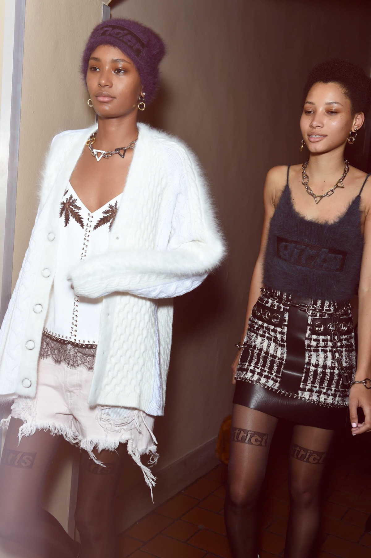 Backstage at the Alexander Wang Fall Winter 2016 Show 1