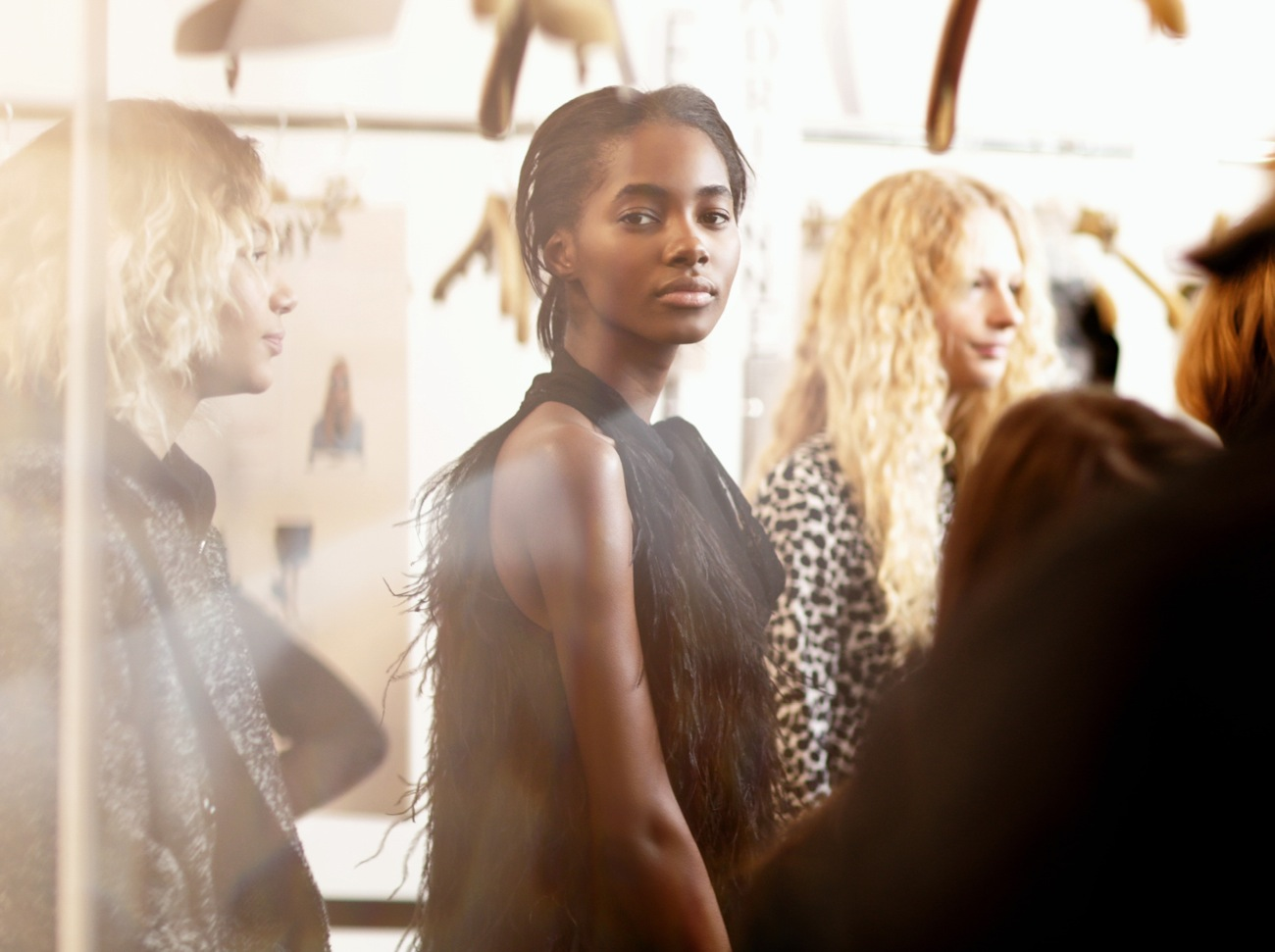 Backstage at the Michael Kors Fall Winter 2016 Show 3