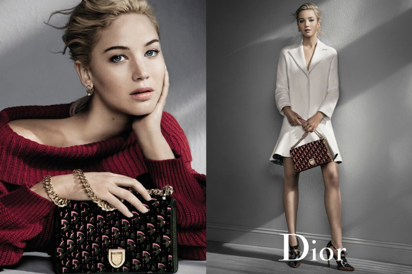 Jennifer Lawrence stars in the New Dior Fall Winter 2016 Handbag Ad Campaign 1