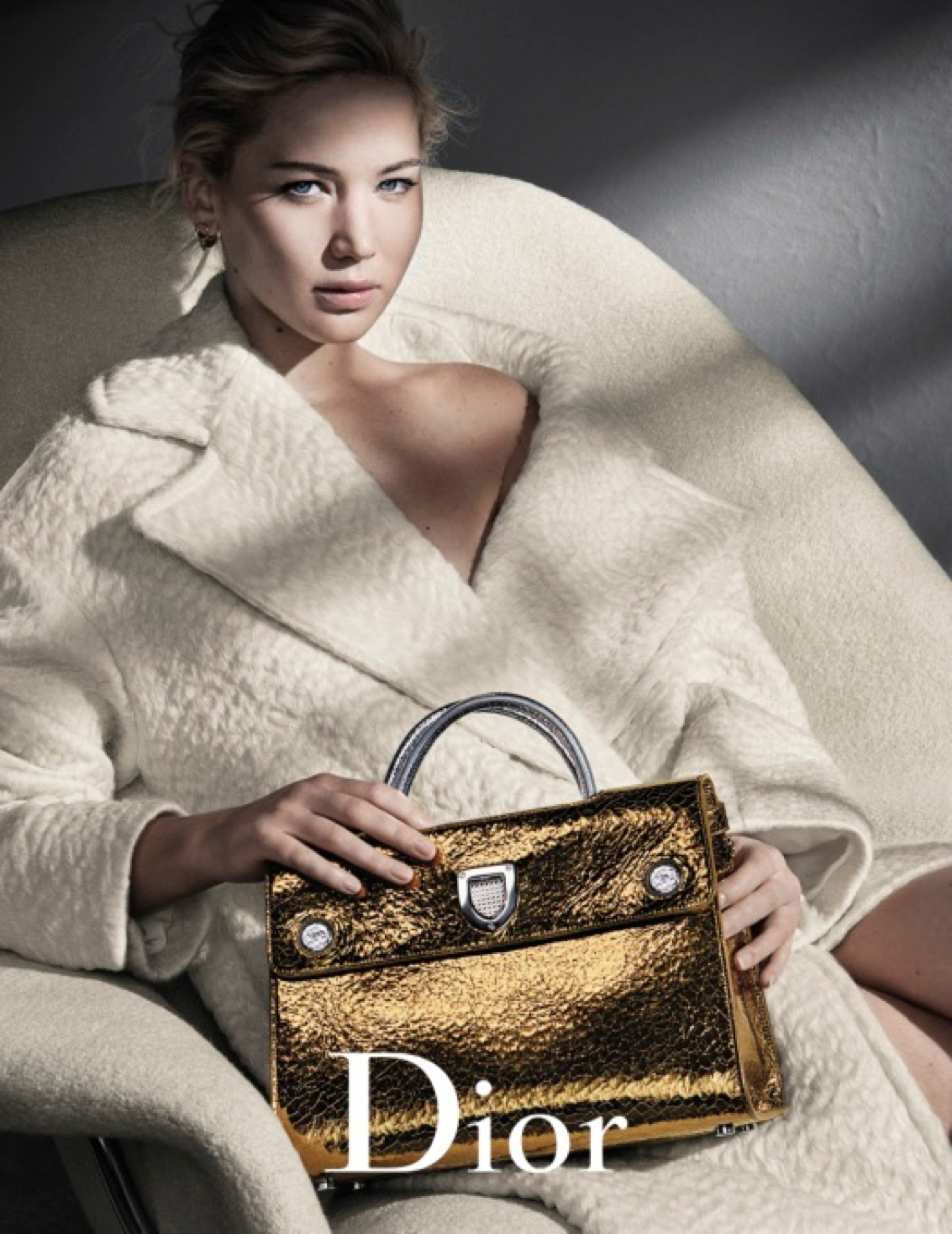 Jennifer Lawrence stars in the New Dior Fall Winter 2016 Handbag Ad Campaign 2