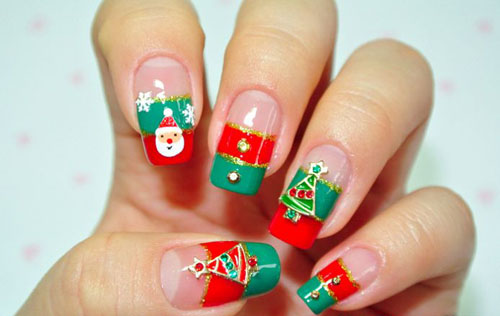 Easy Nail Designs Using Stripers Holiday Art With Pictures Styles At Life