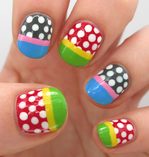 Gallery Of Simple Kids Nail Art Designs On Small Remodel Ideas With