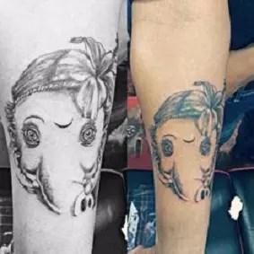 Bal Ganesh Tattoo Designs (Ganesha In Child Form