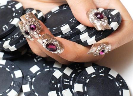 Bling Crystal Nails A