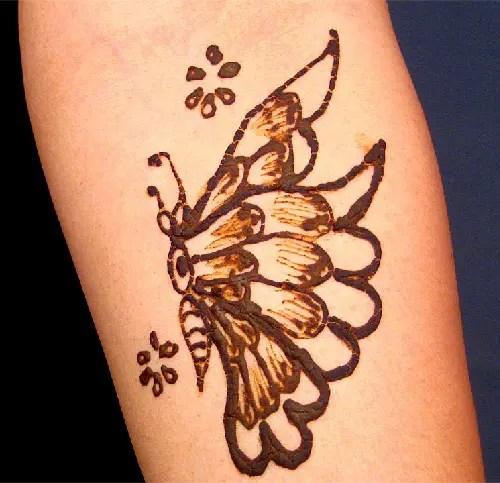 Arabic Butterfly Designs