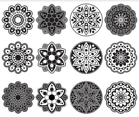Latest Rangoli Designs Geometric Design