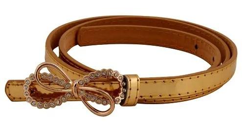 Gold Color Belts for Girls