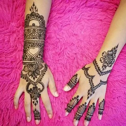Differently Beautiful Designer Mehandi