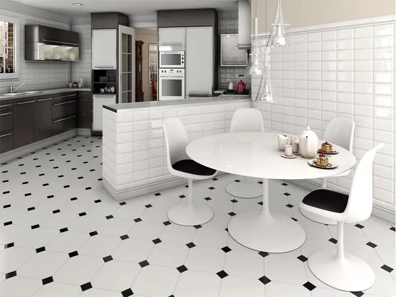 15 modern kitchen floor tiles designs