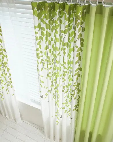 9 gorgeous green curtain designs for