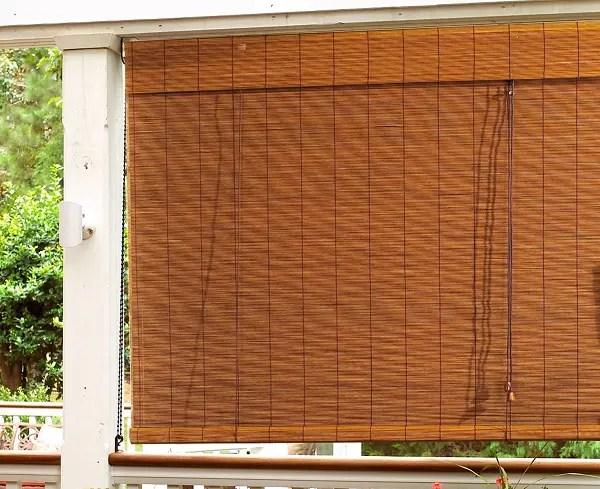 15 simple best bamboo curtain designs