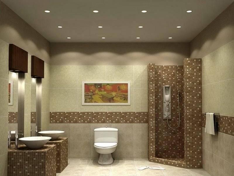 View Washroom Wall Tiles Design Pics