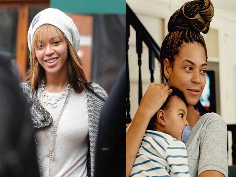 of beyonce without makeup