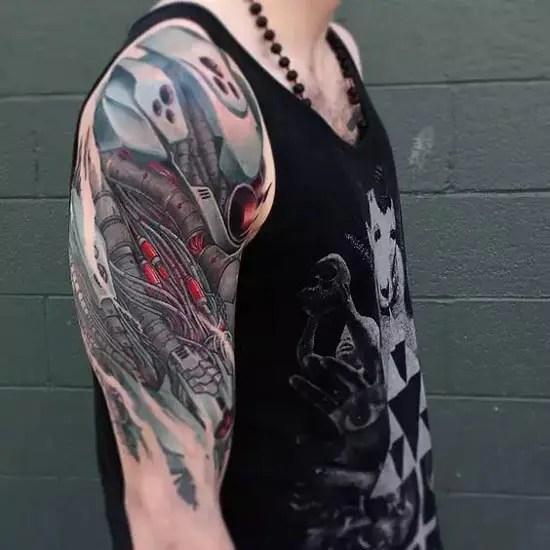 Bio Organic Tattoo Designs 9