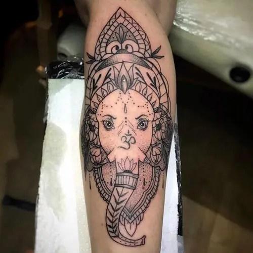 Best Lord Ganesha Tattoo Designs 5