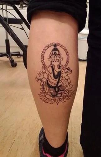 Best Lord Ganesha Tattoo Designs 6