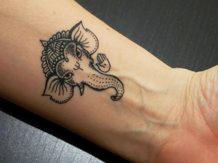 Best Lord Ganesha Tattoo Designs