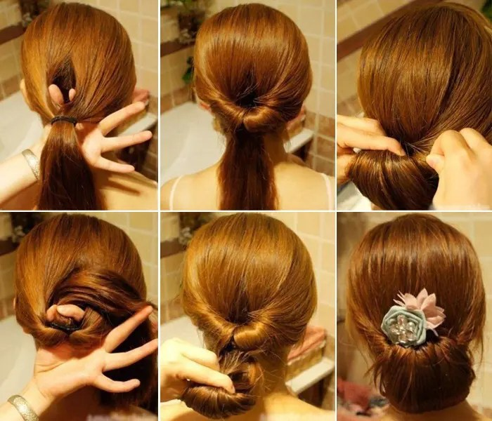 college going girl hairstyle