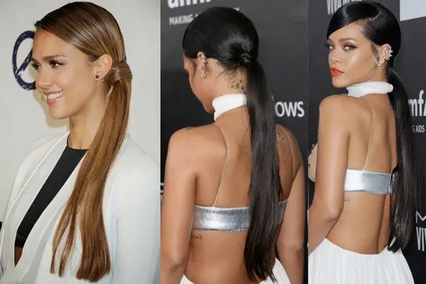 simple ponytail hairstyles for college
