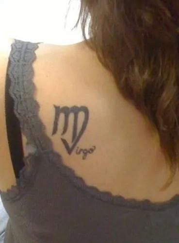 Virgo Tattoo Designs