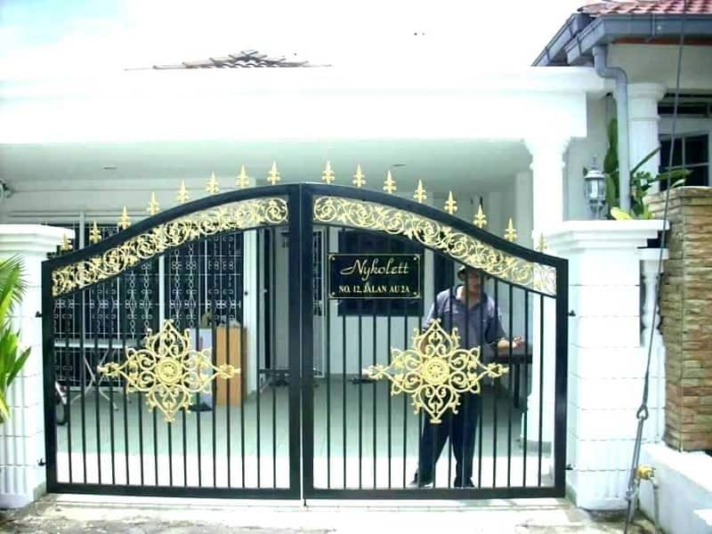 10 Latest Iron Gate Designs For House With Pictures In 2020 on Iron Get Design  id=25767