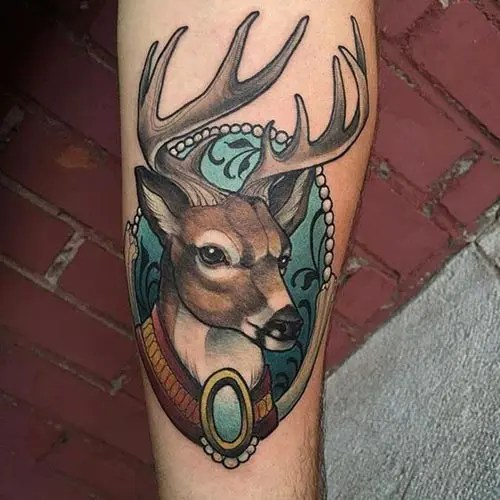 Best Deer Tattoo Designs And Pictures 3