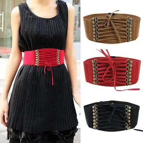 Corset Stretch Skinny Waist Fashion Belt