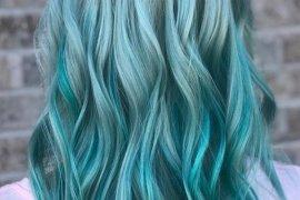 Blue Green Mermaid Hair Color Ideas for 2018