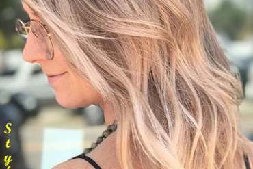 Rose Gold Hair Color Styles
