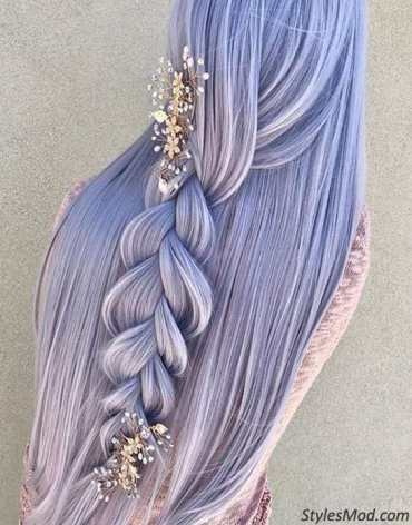 Braids Hairstyles 2018 for Wedding Day