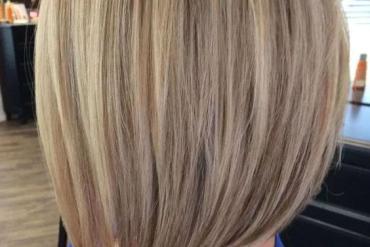 A Line Long Blonde Bob Haircuts for Womens