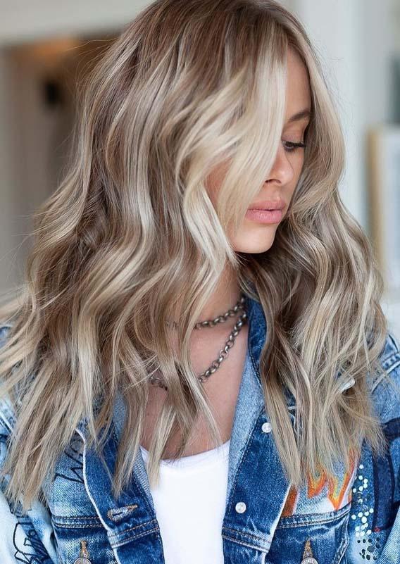 Ash Blond Hair Color Ideas for 2018