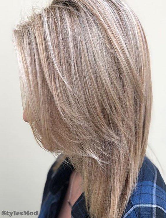 Blonde Caramel Hair Color Highlight