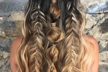 Boho Bridal Hairstyles Trends for 2018