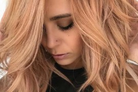 Fantastic Rose Gold Hair Color Trends for 2018