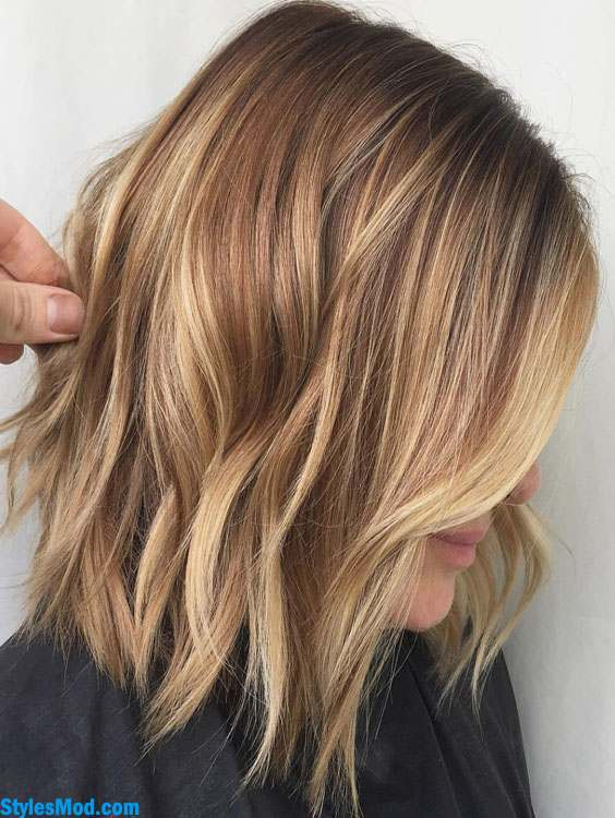 Copper Light Brown Hair Color Styles