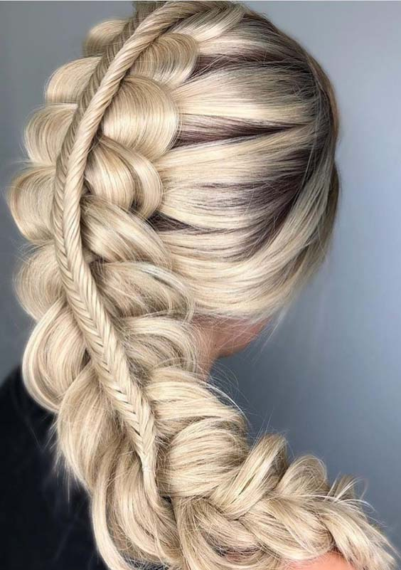 Lovely Double Dutch Braided Hairstyles To Sport In 2018