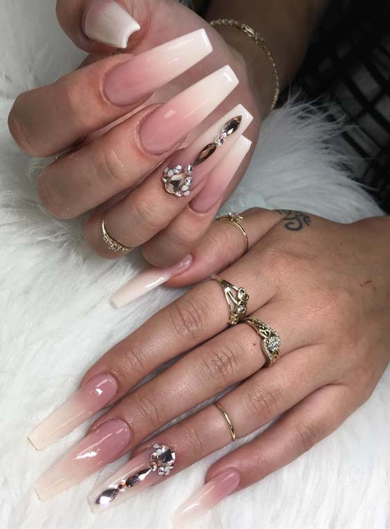 Cutest Natural Looking Ombre Nail Art Designs In 2018 Stylesmod