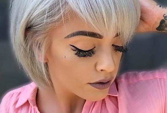 Platinum Pixie Haircuts for Short Hair in 2018