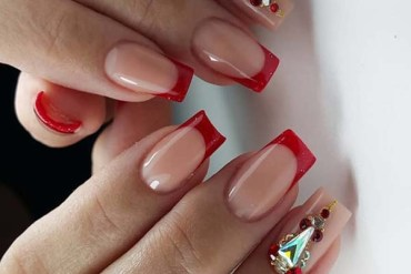 Red Nail Art and Designs for 2018