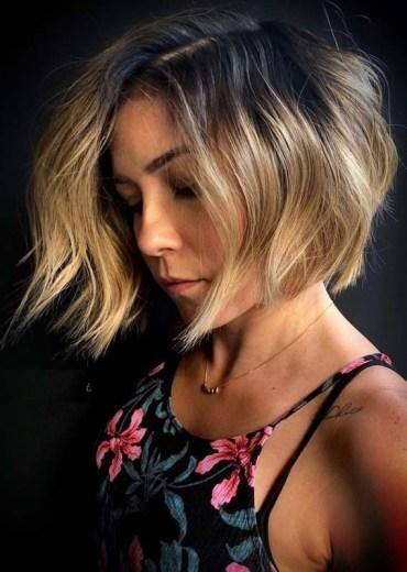 Short Textured Bob Haircuts for 2018