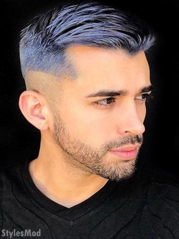 Blue Men's Haircuts for 2018
