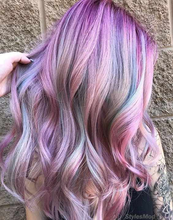 Ideal Look of Purple Lilac Hair Color Ideas for this Week