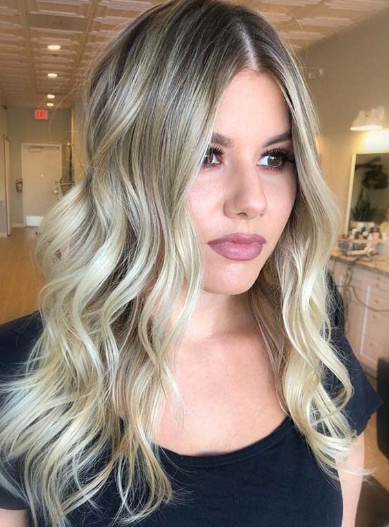 Lovely Long Blonde Hairstyles With Layers In 2018 Stylesmod