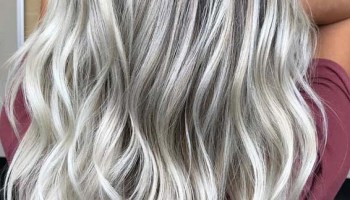 Platinum White Blonde Highlights For Long Hairstyles In 2018 Stylesmod