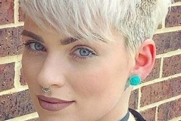 Short Pixie Blonde Haircuts for 2018