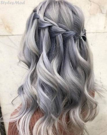 Silver Fox Hair Color Ideas for Young Girls & Women In 2018